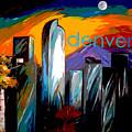 Denver Skyline by Jean Habeck
