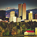 Denver Skyline by Library Of Congress