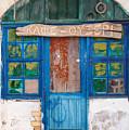 Derelict Greek Cafe-ouzeri by Paul Cowan