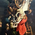 Descent From The Cross by Troy Caperton