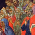 Descent Into Hell Fragment 1311  by Duccio