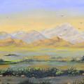 Desert Sunrise by Annette Tan