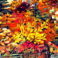Detail Of Fall by Kimberly Simon