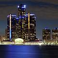 Detroit Skyline Panorama by Bill Cobb