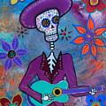 Dia De Los Muertos Mariachi by Pristine Cartera Turkus