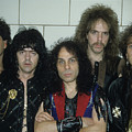 Dio Backstage At The Spectrum by Rich Fuscia