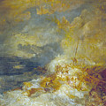 Disaster At Sea by JMW Turner