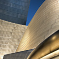 Disney Hall Abstract 2 by Endre Balogh