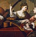 Divine Inspiration Of Music by Nicolas Regnier