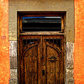 Door In Terracotta by Mexicolors Art Photography