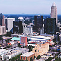 Downtown Charlotte by Library Of Congress