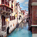 Dreaming Of Venice Panorama by Az Jackson