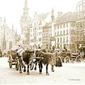 Dresden, Altmarkt Square, Germany, 1903 by A Gurmankin