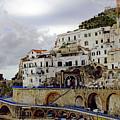 Driving The Amalfi Coast In Italy by Richard Rosenshein