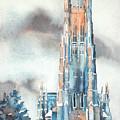 Duke University Chapel by Ryan Fox