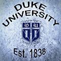 Duke University Est 1838 by Movie Poster Prints
