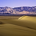 Dunes And Mountains Three by Paul Basile