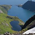 Djupfjord And Lake 229 From Munken by Aivar Mikko