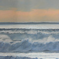 Dusk At High Tide by Harvey Rogosin