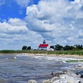 East Point Lighthouse  by Nancy Patterson