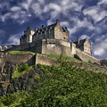 Edinburgh Castle by Anthony Dezenzio