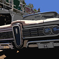Edsel On Route 66 by David Lee Thompson