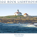 Egg Rock Island Lighthouse by Peter Muzyka