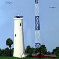 Egmont Key Lighthouse by Frederic Kohli