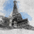 Eiffel Tower Of Paris by Asar Studios