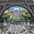 Eiffel Tower Paris by Lynn Bolt