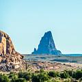 El Capitan Peak Just North Of Kayenta Arizona In Monument Valley by Alex Grichenko