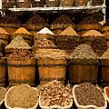 El Dahar Market Spices by Aivar Mikko