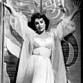 Elizabeth Taylor Diamond Are Forever With Her Collectin by Peter Nowell