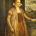 Emilia Di Spilimbergo by Follower Of Titian