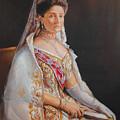 Empress Alexandra Feodorovna Of Russia by George Alexander