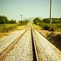 Empty Railway by Carlos Caetano