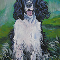 english Springer spaniel by Lee Ann Shepard