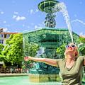 Enjoying In Lisbon by Benny Marty
