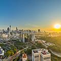 Epic And Beautiful Sunrise At Kuala Lumpur City Center by Mohd Ezairi Mohd Amiruddin