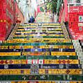 Escadaria Selaron In Rio De Janeiro by Ralf Broskvar