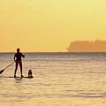 Evening Paddle by David Buhler
