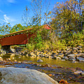 Everett Covered Bridge  by Jack R Perry