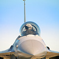 F-16 Fighting Falcon by Bruce Beck