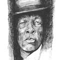 Face Of The Blues - John Lee Hooker by William Walts