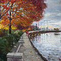 Fall In Port Credit On by Ylli Haruni