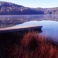 Fall Morning On The Lake by Thomas R Fletcher