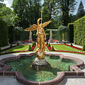 Fama, The Goddess Of Fame In Western Parterre by Aivar Mikko