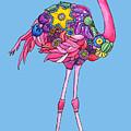 Fancy Felicity Flamingo by Shelley Wallace Ylst