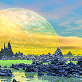 Fantasy Landscape by Elenarts - Elena Duvernay Digital Art