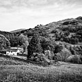 Farmhouse And Surrounding Countryside At Loughrigg Fell And Loughrigg Tarn Near Ambleside Lake Distr by Joe Fox